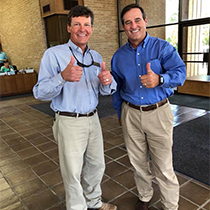 President, Kinnan Stockton and CEO, Chip Jenkins