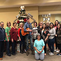 Colby Swift at El Campo Branch
